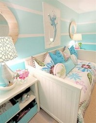 36+ Sweet Mermaid Themes Bedroom Ideas For Your Children (32)