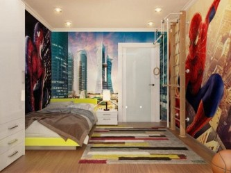 44+ Cool Superhero Theme Ideas For Boy's Bedroom (10)