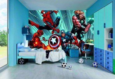 44+ Cool Superhero Theme Ideas For Boy's Bedroom (12)