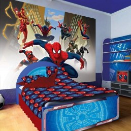 44+ Cool Superhero Theme Ideas For Boy's Bedroom (13)