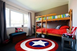 44+ Cool Superhero Theme Ideas For Boy's Bedroom (16)