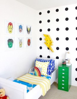 44+ Cool Superhero Theme Ideas For Boy's Bedroom (24)