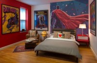 44+ Cool Superhero Theme Ideas For Boy's Bedroom (25)