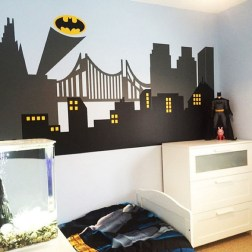 44+ Cool Superhero Theme Ideas For Boy's Bedroom (39)