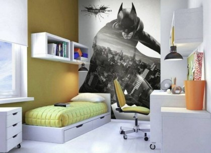 44+ Cool Superhero Theme Ideas For Boy's Bedroom (9)