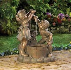46+ Beauty Outdoor Water Fountains Ideas Best For Garden Landscaping (10)