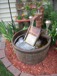 46+ Beauty Outdoor Water Fountains Ideas Best For Garden Landscaping (32)