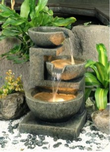 46+ Beauty Outdoor Water Fountains Ideas Best For Garden Landscaping (34)