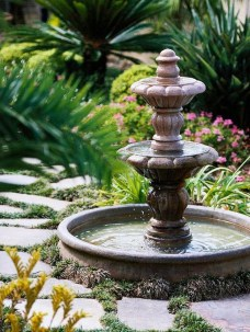46+ Beauty Outdoor Water Fountains Ideas Best For Garden Landscaping (45)