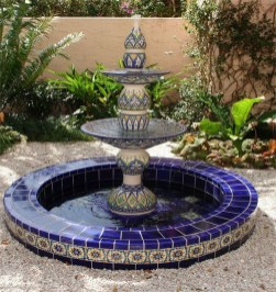 46+ Beauty Outdoor Water Fountains Ideas Best For Garden Landscaping (46)