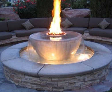 46+ Beauty Outdoor Water Fountains Ideas Best For Garden Landscaping (6)