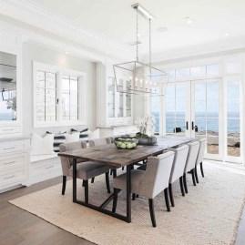 75+ Stuning Farmhouse Dining Room Decor Ideas 14