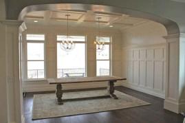 75+ Stuning Farmhouse Dining Room Decor Ideas 15