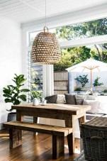 75+ Stuning Farmhouse Dining Room Decor Ideas 17