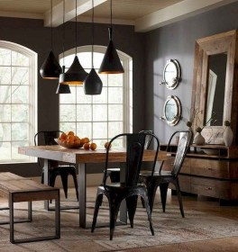 75+ Stuning Farmhouse Dining Room Decor Ideas 21