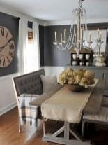75+ Stuning Farmhouse Dining Room Decor Ideas 31