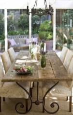 75+ Stuning Farmhouse Dining Room Decor Ideas 50