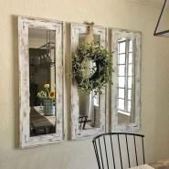 75+ Stuning Farmhouse Dining Room Decor Ideas 57