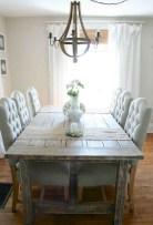 75+ Stuning Farmhouse Dining Room Decor Ideas 63