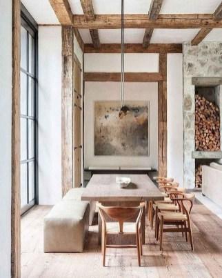 75+ Stuning Farmhouse Dining Room Decor Ideas 65