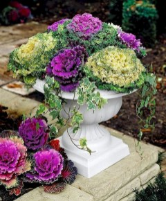 88+ Amazing Fall Container Gardening Ideas (10)