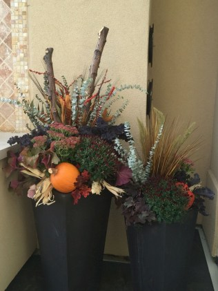 88+ Amazing Fall Container Gardening Ideas (12)