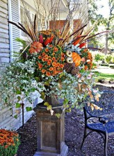 88+ Amazing Fall Container Gardening Ideas (17)