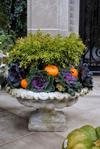 88+ Amazing Fall Container Gardening Ideas (35)