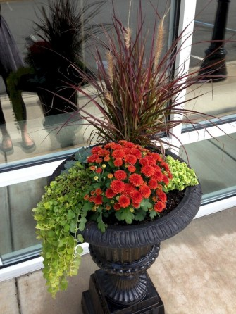 88+ Amazing Fall Container Gardening Ideas (42)