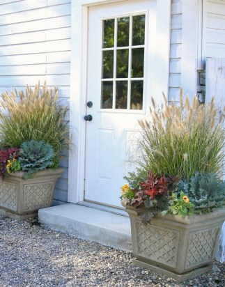 88+ Amazing Fall Container Gardening Ideas (58)