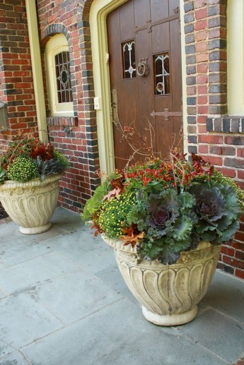 88+ Amazing Fall Container Gardening Ideas (85)