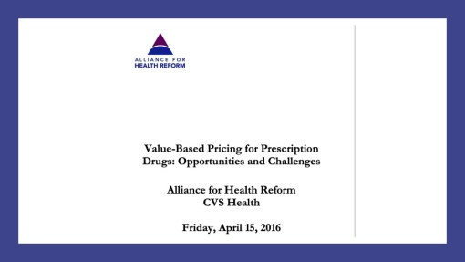 Alliance for Health reform