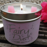 What Font Does Lily-Flame Use On Their Scented Tins?