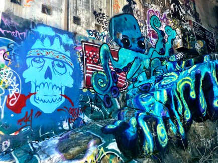 Hike Abandoned Train Tunnels With Graffiti Donner Pass