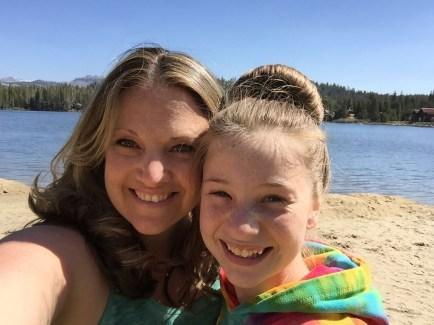 Jennifer Bourn Natalie Bourn Mothers Day At Serene Lakes