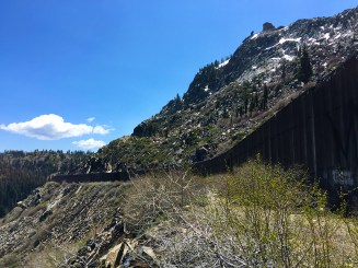 Summit Tunnel Railroad Sheds Donner Pass