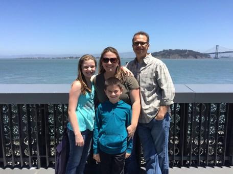Bourn Family At The Exploratorium