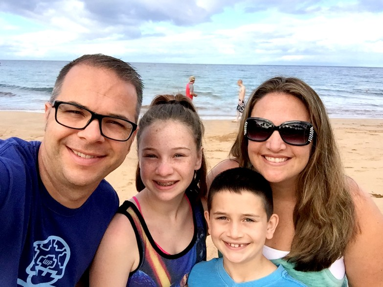 Family Vacation at The Grand Wailes In Maui