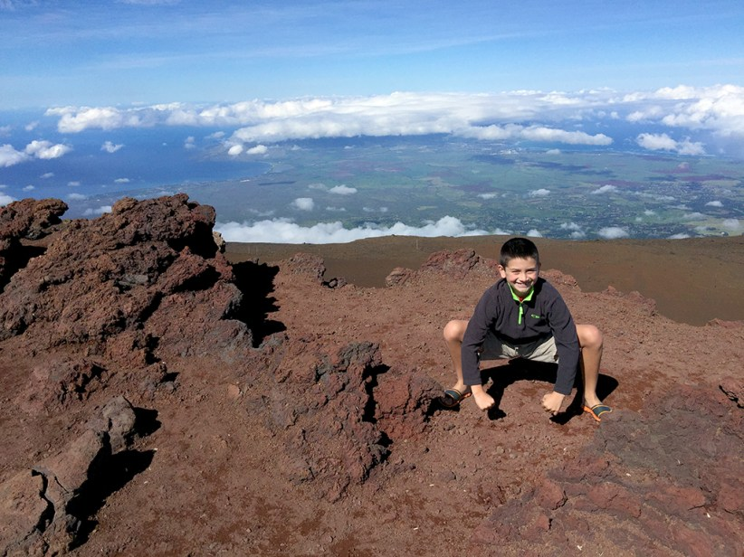 Carter Bourn Haleakala National Park Summit