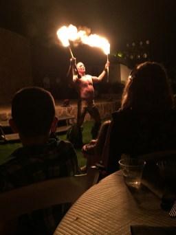 Fire Dancer Maui Luau