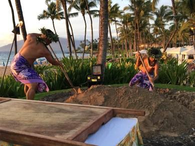 Imu Ceremony Grand Wailea Grand Luau Maui