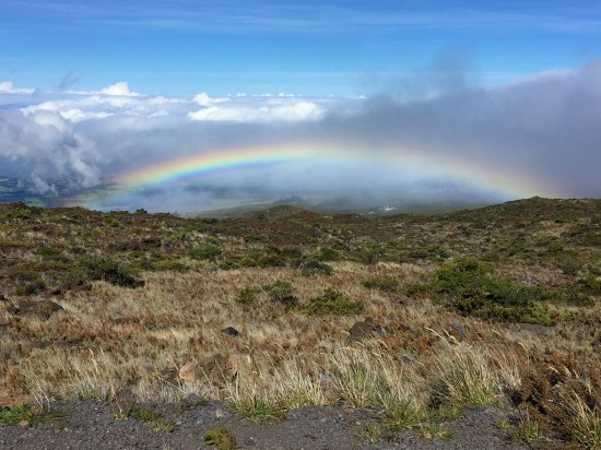 Rainbow In The Clouds Maui Hawaii