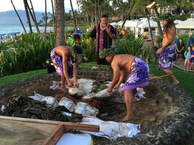Thanksgiving Turkeys Maui Luau