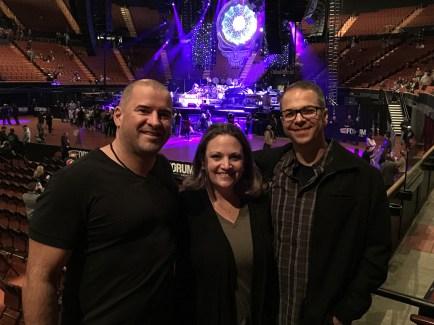 Kiko Doran with Jennifer Bourn and Brian Bourn