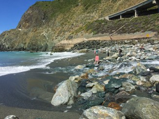 Playing and Picnicing at Limekiln State Park Beach