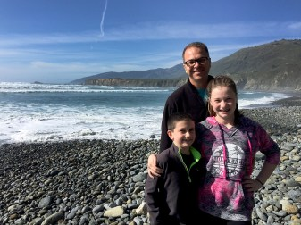 Sand Dollar Beach in the Los Padres National Forest