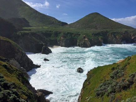 Scenic Views of the Big Sur Pacific Coast