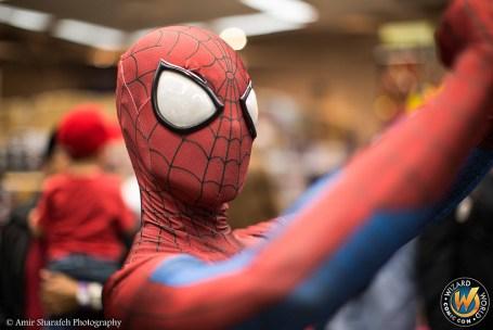 Spiderman Wizard World Sacramento