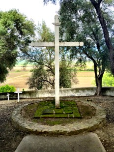 Cemetary Cross at Mission San Juan Bautista