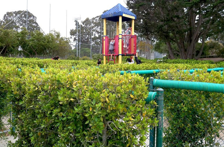 Dennis The Menace Park Maze And Tower